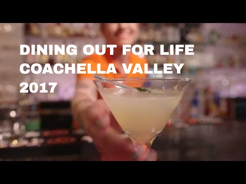 Dining out for Life 2017   TRIO Palm Springs