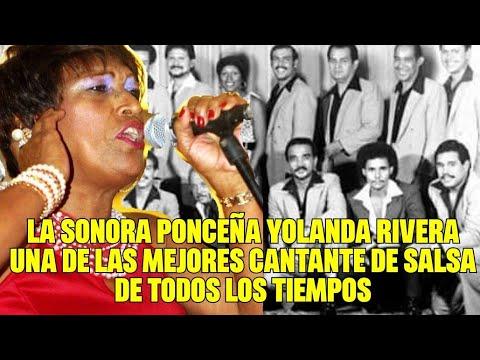 La Sonora Ponceña Homenaje  Yolanda rivera una de las mejores cantante de Salsa de todos los Tiempos