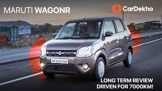 Maruti Wagon R 2019 | 7000km Long-Term Review | CarDekho
