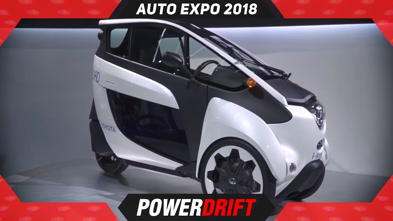 Toyota Future Zone @ Auto Expo 2018 : PowerDrift