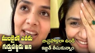 We embarrassed ourselves by impersonating ourselves as beggars in Mumbai : Sreemukhi | IG Telugu - IGTELUGU
