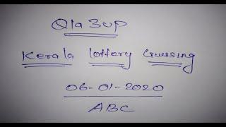 How to win Lottery money | Kerala Lottery last three number tips | 06.01.2020