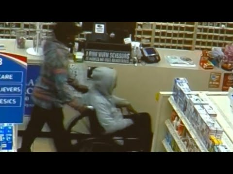 Suspect in Wheelchair Stands to Rob Pharmacy: Cops