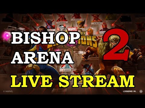 connectYoutube - Bishop Arena - Part 2 | Marvel Contest of Champions Live Stream