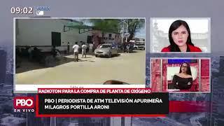 PBO OXÍGENO PERÚ - RETOS DEL NUEVO GOBIERNO: RADIOTON PARA LA COMPRA DE PLANTA DE OXÍGENO