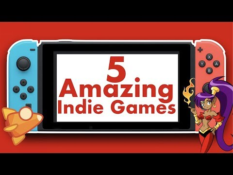 5 AMAZING Indie Games on Nintendo Switch