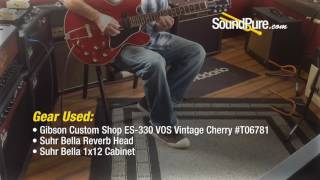 Gibson Custom Shop ES-330 VOS Vintage Cherry #T06781