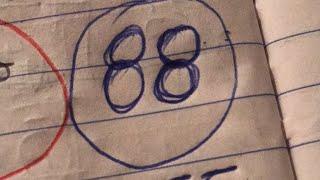 Hablando de números hoy bingo  25 y 86 súper volteado 25-91
