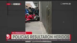 Atraco frustrado en una vivienda de El Alto deja a dos policías heridos de bala
