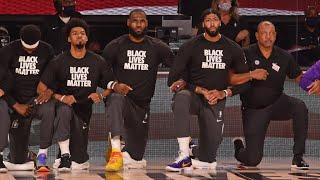 Black Lives Matter : les joueurs américains de NBA dénoncent les violences policières