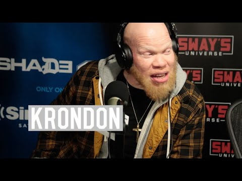 "Marvin ""Krondon"" Jones III on Starring In Black Lightning and His Rap Career In Strong Arm Steady"