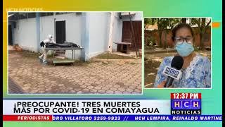 Tres decesos por #Covid19 registró el hospital de Comayagua el fin de semana