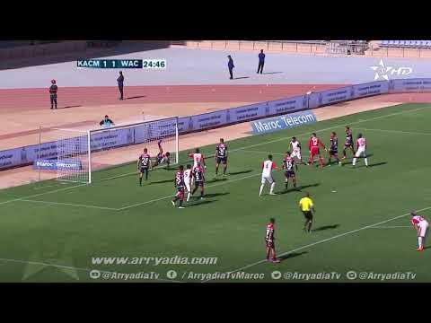 الكوكب المراكشي 2-1 الوداد البيضاوي هدف رضى الزهراوي