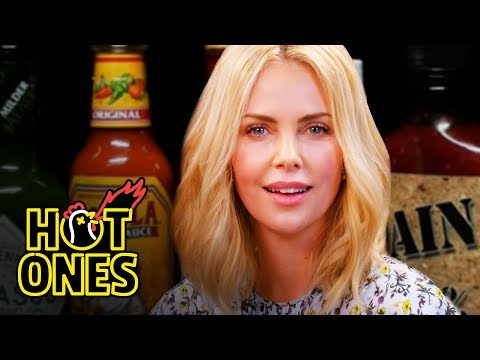 connectYoutube - Charlize Theron Takes a Rorschach Test While Eating Spicy Wings | Hot Ones
