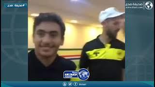 ابن اللاعب حسين عبدالغني مع ناشئين الإتحاد