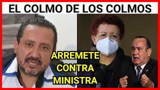 Urgente Guatemala, Rony Mendoza envía un mensaje y arremete contra la ministra de salud
