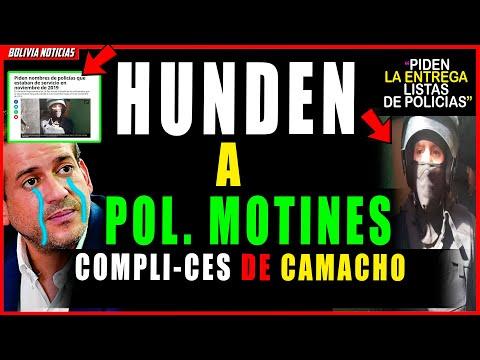 ¡FIN DE MOTI-N3S COMPLI-C3S DE CAMACHO! CONMI-N4N ENTRE-G4 DE LISTAS DE POLICIAS EN LOS DIAS GOLPE.
