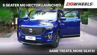 ZigFF: 🚙 MG Hector Plus (6-Seater) | Hector+ Innova Ambitions? | Zigwheels.com