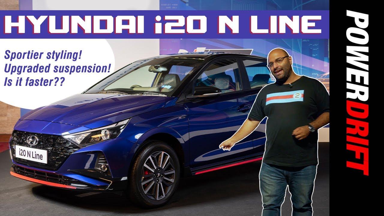 Hyundai i20 N Line - Hot Or Not?   Walkaround   PowerDrift