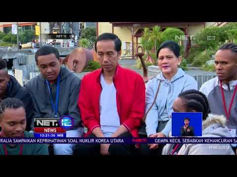 Presiden Jokowi Temui Komunitas Mahasiswa Indonesia di Selandia Baru - NET 12