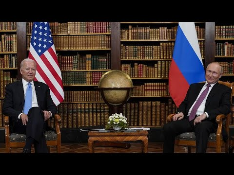 Genève : Joe Biden et Vladimir Poutine misent sur l'apaisement
