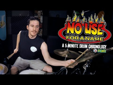 connectYoutube - No Use For a Name: A 5 Minute Drum Chronology - Kye Smith [4K]