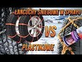 Łańcuchy śniegowe w sprayu vs. plastikowe - TEST