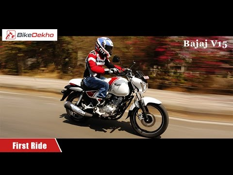 Bajaj V15 | First Ride Review | BikeDekho.com