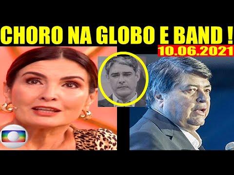 Choro na Globo e Band ! Triste Comunicado Datena e Fátima Bernardes em Notícia que Acaba de Chegar !