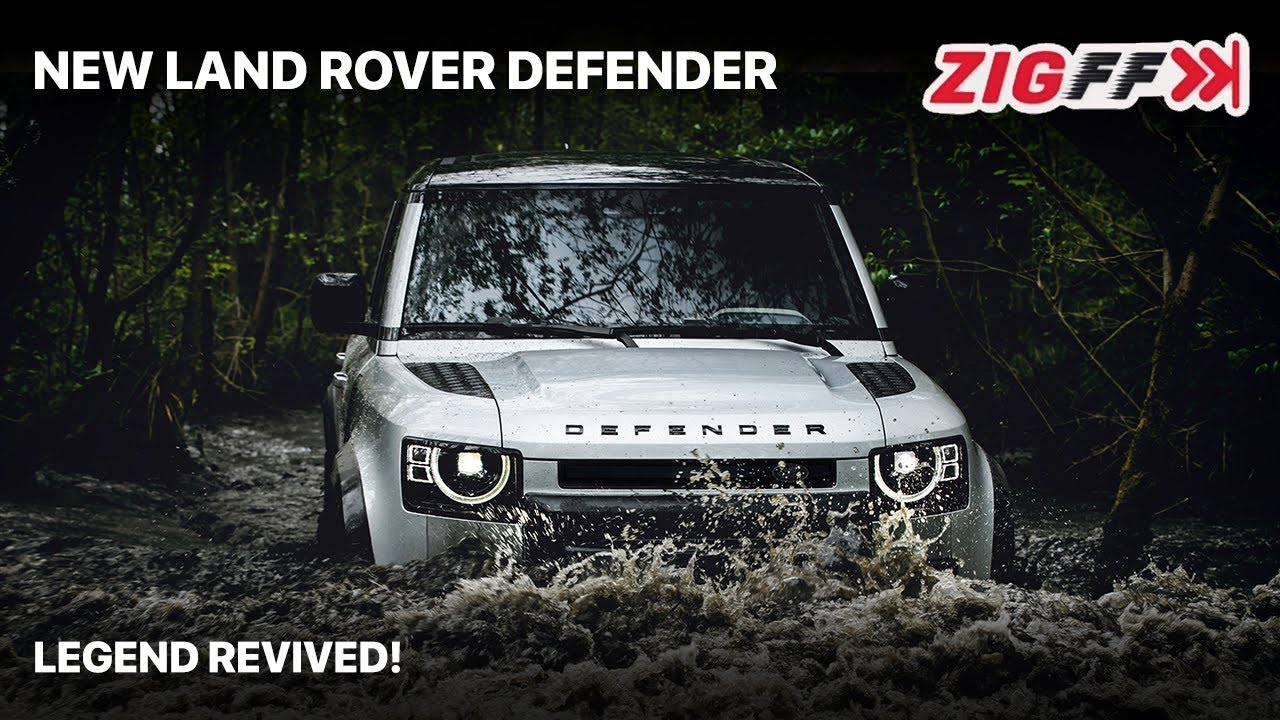 🚙 2020 Land Rover Defender Launched In India | The Real Deal! | ZigFF