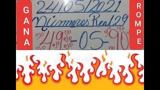 NUMEROS PARA HOY 24/05/2021 DE MAYO PARA TODAS LAS LOTERIAS¡¡¡GANA LAS LOTERIAS!!!!!