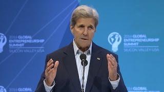 Global Entrepreneurship Summit @ Stanford: John Kerry Highlights