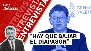 Entrevista a XIMO PUIG, de la Generalitat valenciana, por Marc Sala | La Noche En 24h