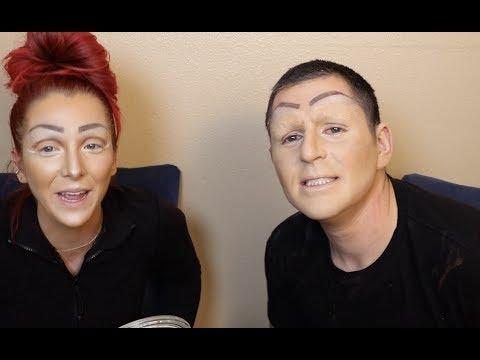 Double Drag Makeup