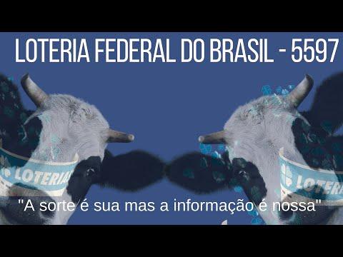 Loteria Federal do Brasil - Extração 5597 - Resultados de hoje - 15 - 09 - 2021 - Podcast Loteria