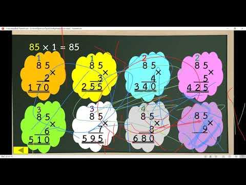 วิชาคณิตศาสตร์-เรื่องการหาตัวไ