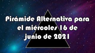 Lotería de Panamá - Pirámide Alternativa para el miércoles 16 de junio de 2021