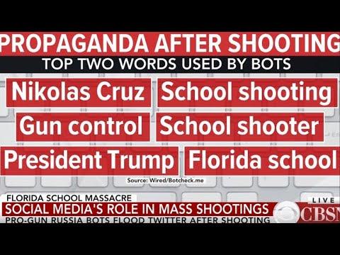 Pro-gun Russia bots flood Twitter after Florida school shooting