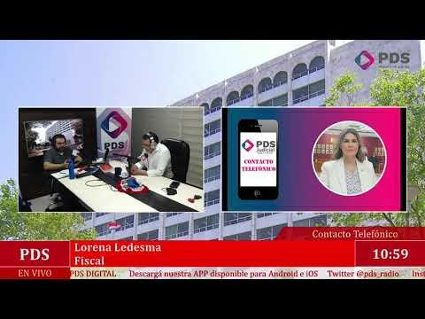 Estuvimos en comunicación con Lorena Ledesma - Fiscal