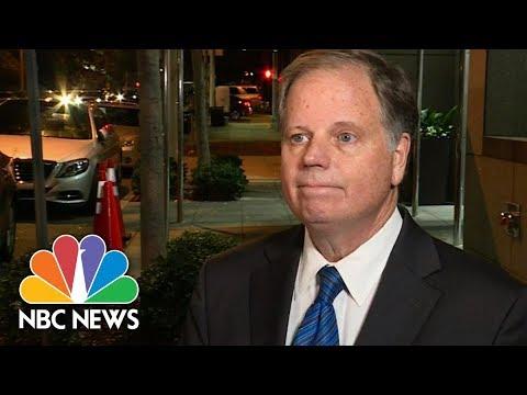 Roy Moore's Opponent Doug Jones Focused On Alabama Issues | NBC News