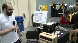 SEGAS 2011 - Rich Flickinger's Velvet Mite 10 Watt Amp and Speaker Cabinet