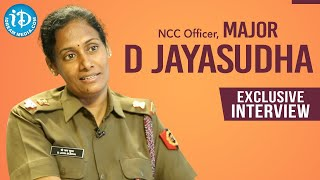 Major D Jayasudha, NCC Officer Exclusive Interview || Dil Se with Anjali || iDream Telugu Movies - IDREAMMOVIES