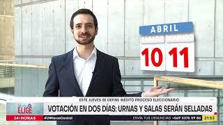 Chile Elige: Continúa el debate sobre posibles comicios en dos jornadas