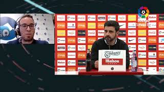 Rueda de prensa Real Sporting vs FC Cartagena