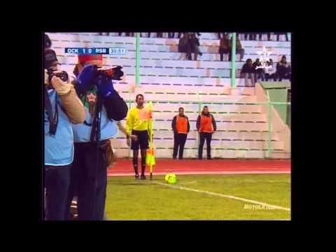 البطولة الوطنية: هدف مباراة أولمبيك خريبكة في مرمى نهضة بركان