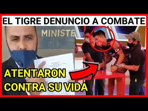 URGENTE GUATEMALA EL TIGRE PRESENTA DEMANDA CONTRA EL PROGRAMA COMBATE POR ATENTAR CONTRA SU VIDA