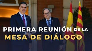 DIRECTO   Rueda de prensa tras el primer encuentro de la mesa de diálogo