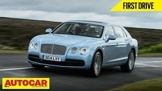 2014 Bentley Flying Spur V8 | First Drive Video Review