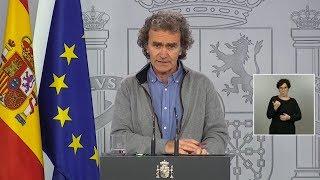 España: Vuelven a bajar las muertes por coronavirus