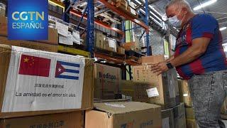 Cuba recibe otro donativo de China para luchar contra la COVID-19